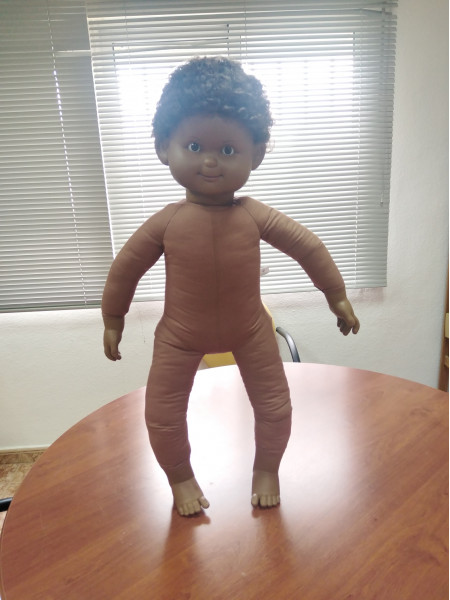 85cm (18 to 24 month old) Regular Doll with Skeleton