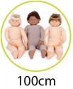 100cm (Child Size) Dolls