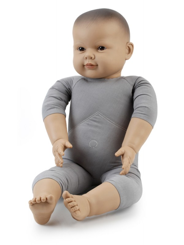 60cm Semi Weighted Asian Doll