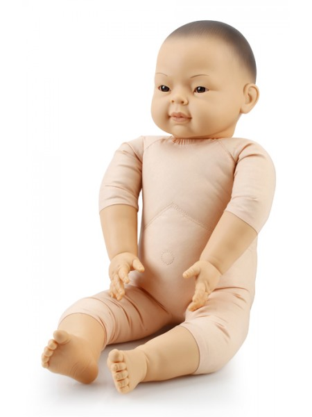 60cm Semi Weighted East Asian Doll