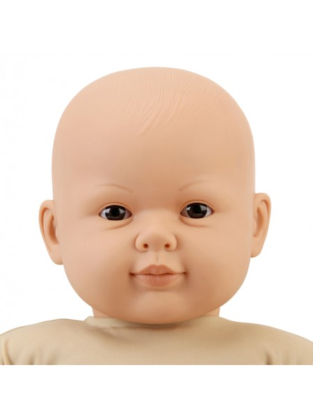 60cm Fully Weighted Caucasian Doll