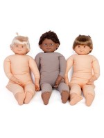 85cm Fully Weighted Caucasian Doll (blonde hair)