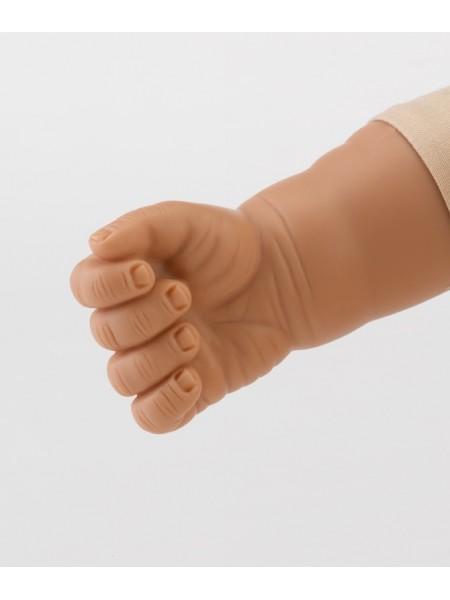 50cm, semi weighted, hard plastic dolls