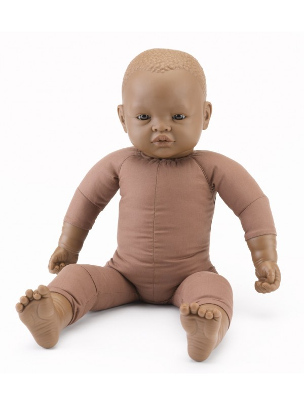 50cm Weighted Afro-Caribbean Doll