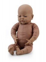 42cm Weighted Afro-Caribbean Doll