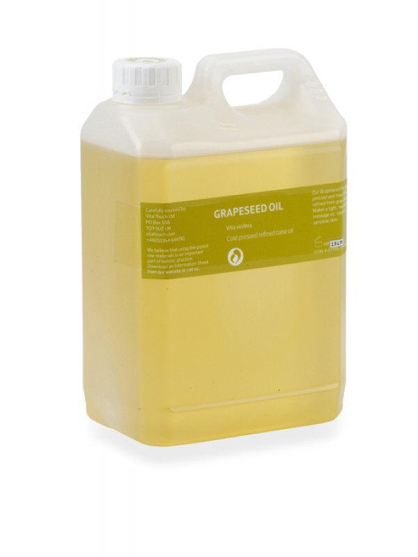 Grapeseed Massage Oil 2.5ltr
