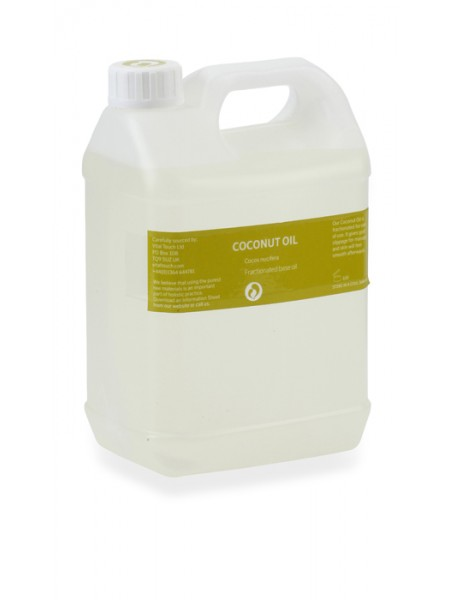 Fractionated Coconut Massage Oil 2.5ltr
