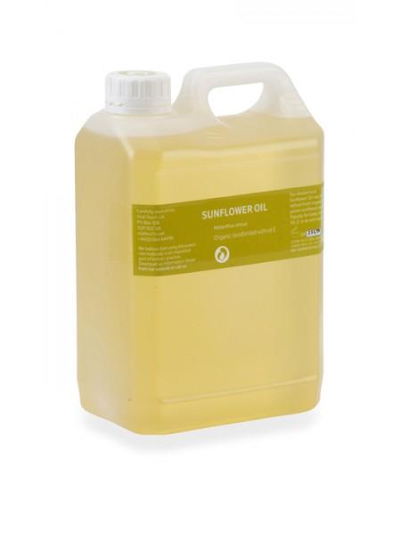 Organic Sunflower & Vitamin E Massage Oil 2.5ltr