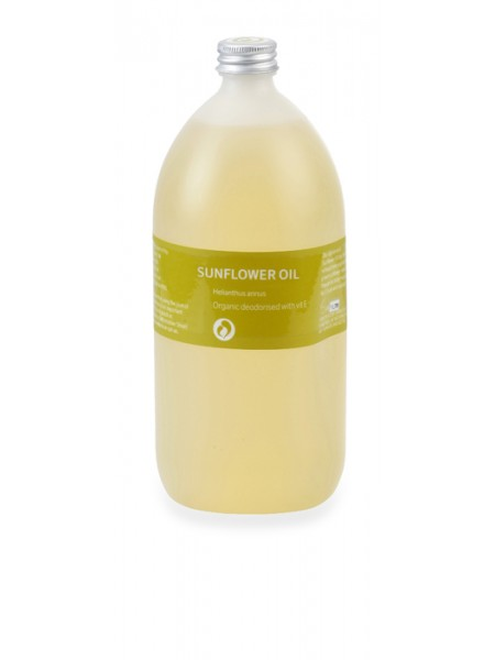 Organic Sunflower & Vitamin E Massage Oil 1ltr