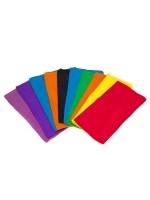 Colourful Silk Tie Dye Scarves (Pack of ten)